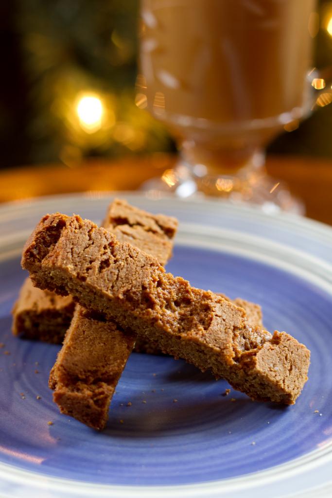Gingerbread Spice Biscotti