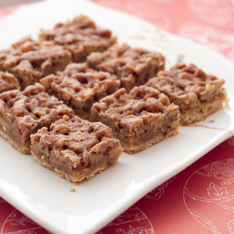Maple-Pecan Pie Bars
