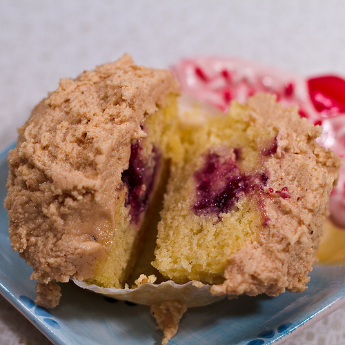Peanut Butter & Jelly Cupcake from Rocket Fine Street Food