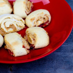 Peanut Butter and Jelly (and Fluffernutter!) rugelach