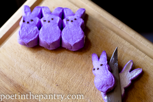 Buried Bunny Brownies