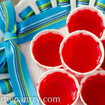 strawberry shortcake gelatin shots