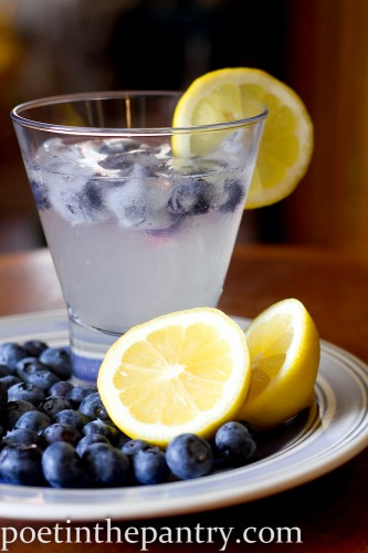 Blueberry Lemonade for Mamas and Papas