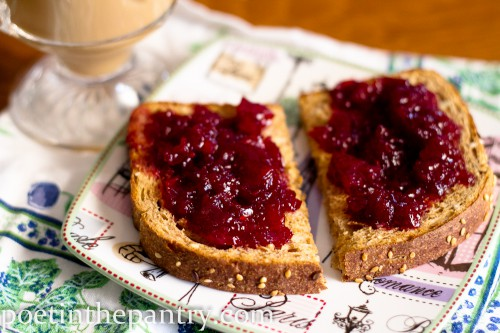 amaretto cherry preserves