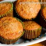 basket of granola muffins