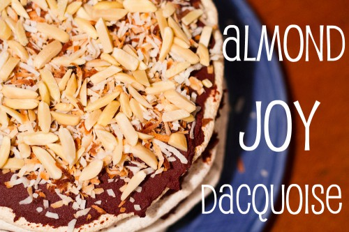 almond joy dacquoise