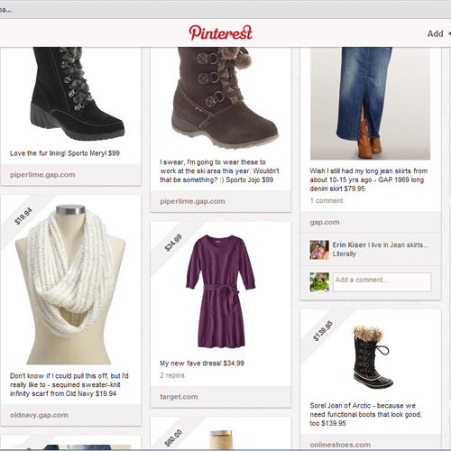 pinterest fashion folder