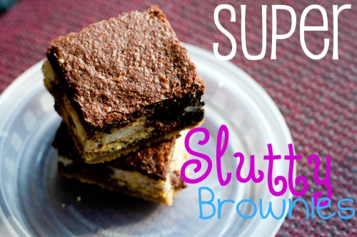 Super Slutty Brownies