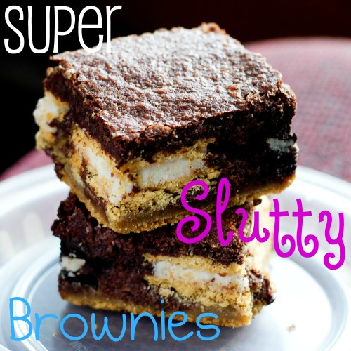 Super Slutty Brownies For Less Than Slutty Mommies - poet in the pantry