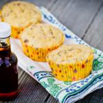 maple sausage cornmeal muffins