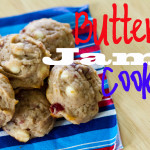 buttery jam cookies - poet in the pantry