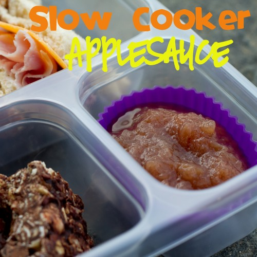 slow cooker applesauce - poet in the pantry