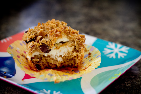Graham Cracker Cheesecake Muffin