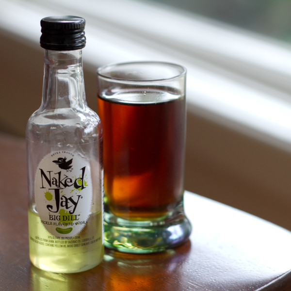 Naked Jay Bomb - Naked Jay Big Dill Vodka