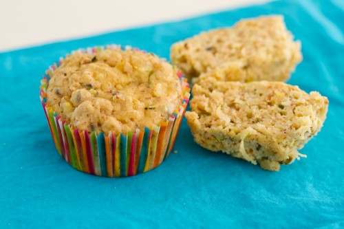 Whole Grain Zucchini Lemon &amp; Lavender Muffins - poet in the pantry