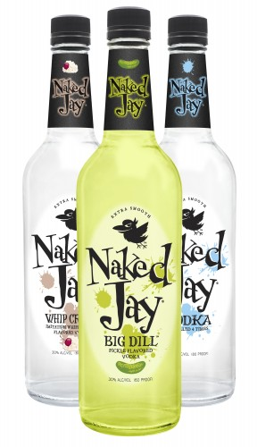 Naked Jay Vodka Family