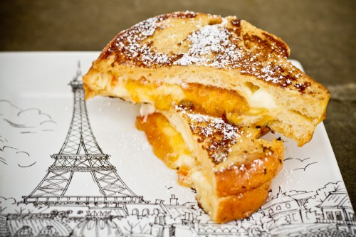 #SeriousSandwich Mascarpone and Marmalade-Stuffed French Toast - poet in the pantry