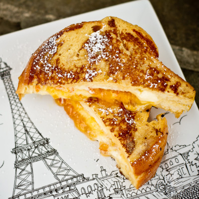Mascarpone and Marmalade-Stuffed French Toast