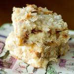 Key Lime Pie Magic Cookie Bars - poet in the pantry