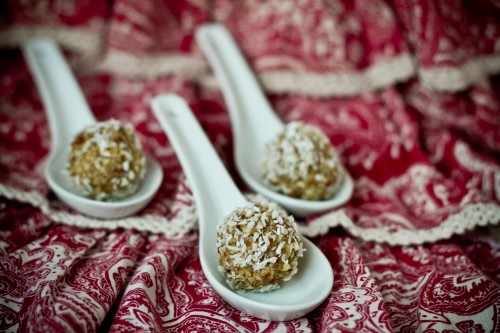 Coconut Nut Balls - poet in the pantry