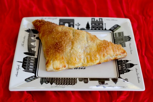 #SeriousSandwich Sweetened Cream Cheese and Cherry Jam Turnovers - poet in the pantry