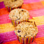 Cranberry Spice Muffins - poet in the pantry