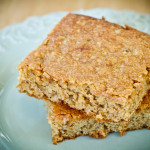 Maple Blondies - poet in the pantry