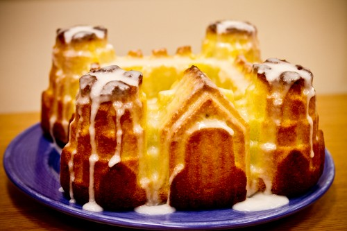 coconut and rum bundt cake - poet in the pantry