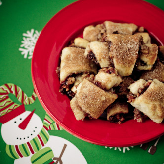 Chocolate Cherry Rugelach