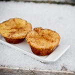 Toffee Snickerdoodle Muffins - poet in the pantry