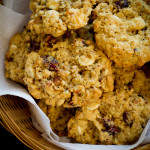 Oatmeal Cranberry Chunky Cookies - poet in the pantry