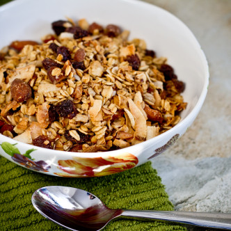 Homemade Super Crunch Granola