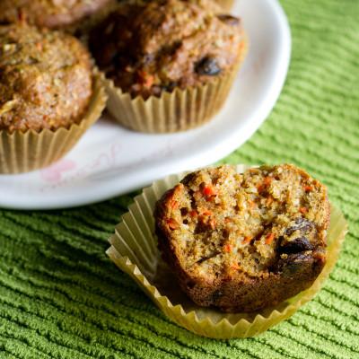 KAF Morning Glory Muffins