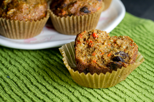 KAF Morning Glory Muffins