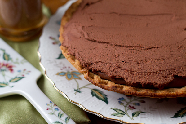 Irish Coffee Chocolate Tart