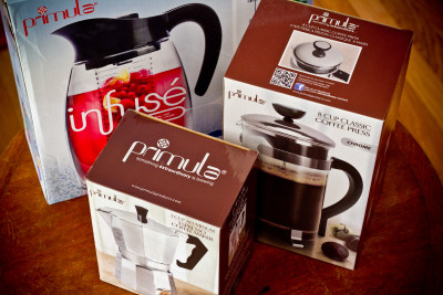 Primula Products coffee makers