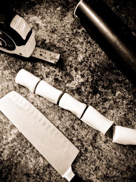 cutting sfogliatelle