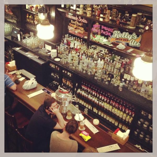 Heartland Brewery bar