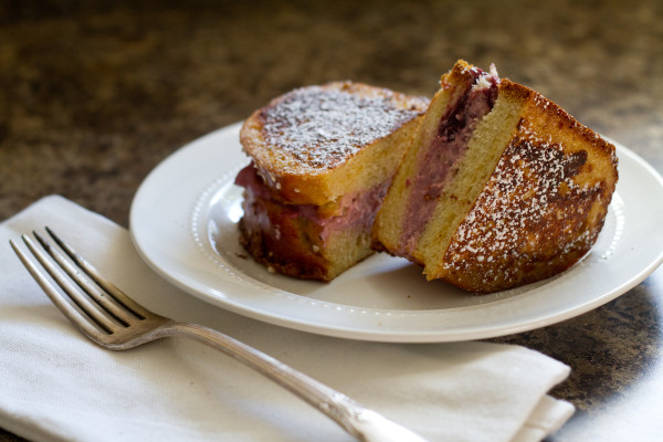 Brioche Stuffed French Toast