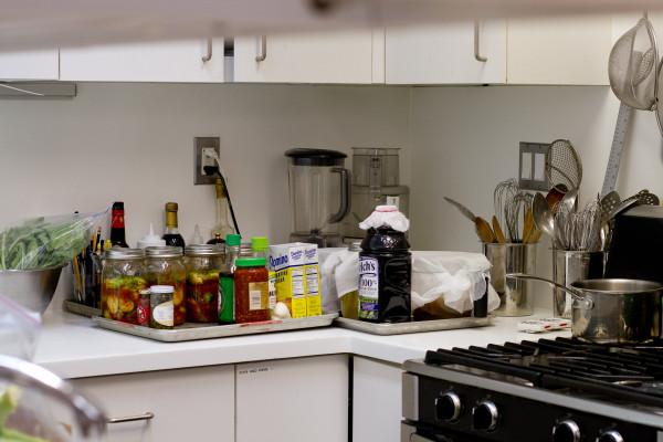 Bon Appétit test kitchen bay