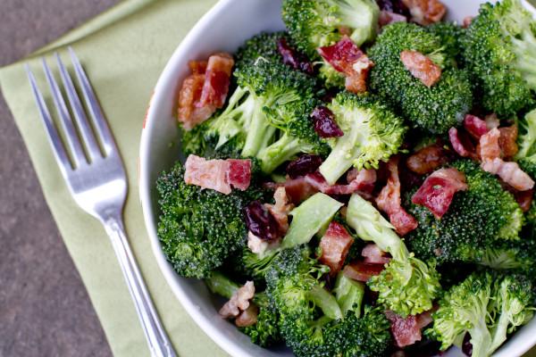 Broccoli Salad with Bacon