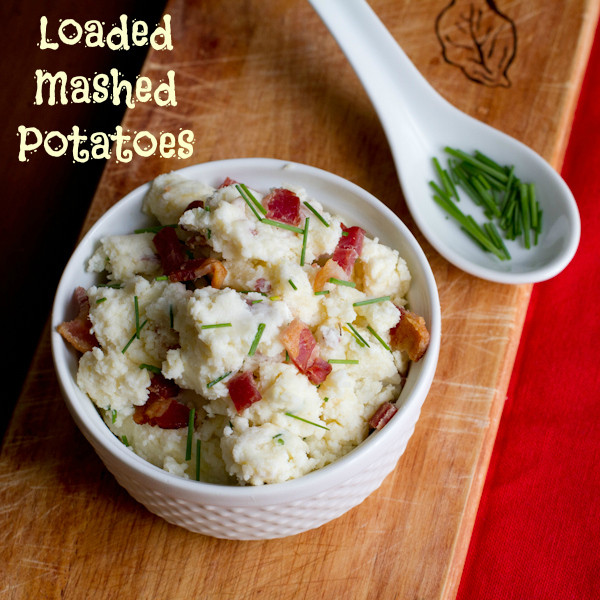 Loaded Mashed Potatoes - poetinthepantry.com