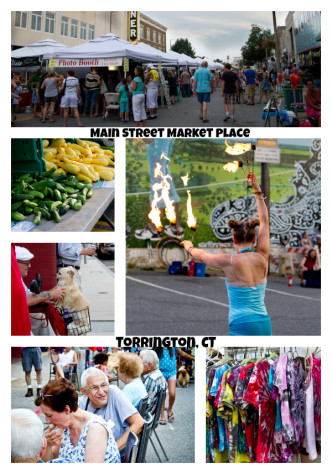 Main Street Market Place collage