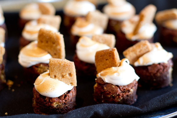 S'Mores Brownies from Republic Gastropub were rich, and completely addictive