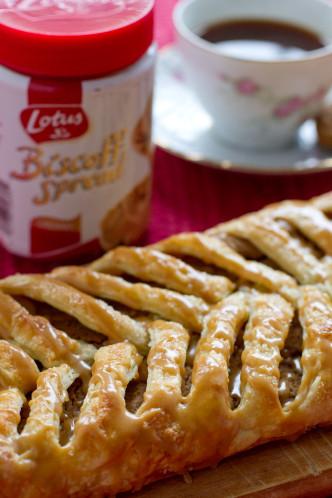 Biscoff Danish