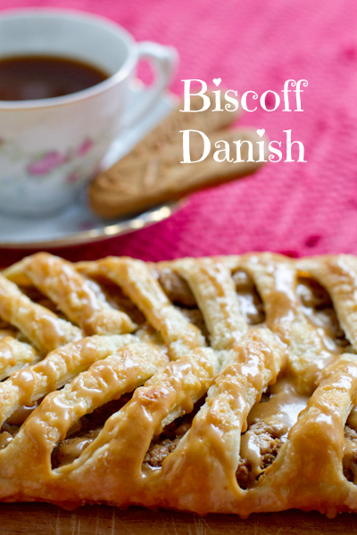 Biscoff Danish - poetinthepantry.com