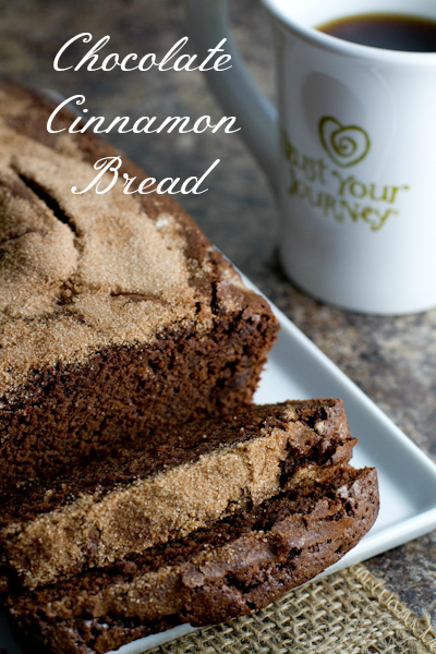 Chocolate Cinnamon Bread - poet in the pantry