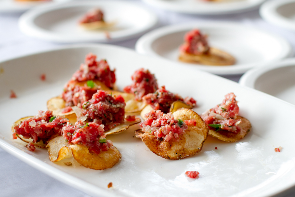 Steak Tartare at Greenwhich Wine + Food Festival 2013 - poet in the pantry