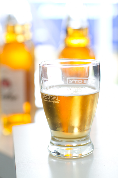 Stella Artois Cidre at Greenwich Wine + Food Festival 2013 - poet in the pantry