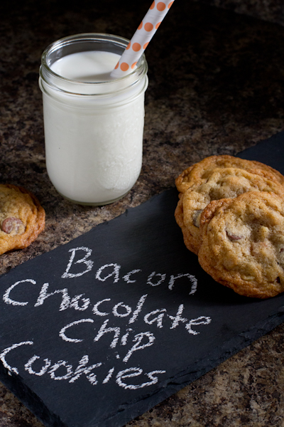 Bacon Chocolate Chip Cookies - poet in the pantry